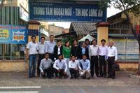 Bế giảng lớp Tiếng Việt cho cán bộ, công chức Campuchia